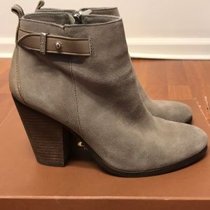 coach booties in great condition
